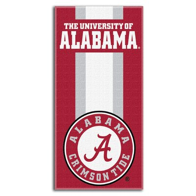 NCAA Zone Read Beach Towel NCAA Team: University of Alabama