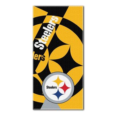 NFL Steelers Puzzle Beach Towel