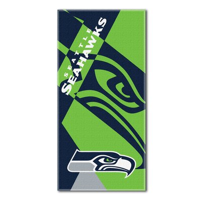 NFL Seahawks Puzzle Beach Towel