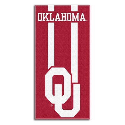 Collegiate Oklahoma Zone Read Beach Towel