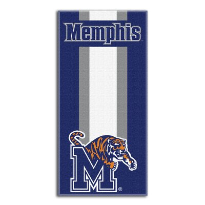 NCAA Zone Read Beach Towel NCAA Team: University of Memphis