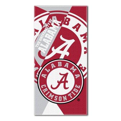 Collegiate Alabama Puzzle Beach Towel