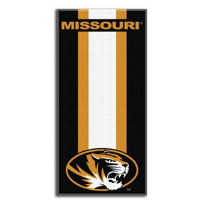 Collegiate Missouri Zone Read Beach Towel