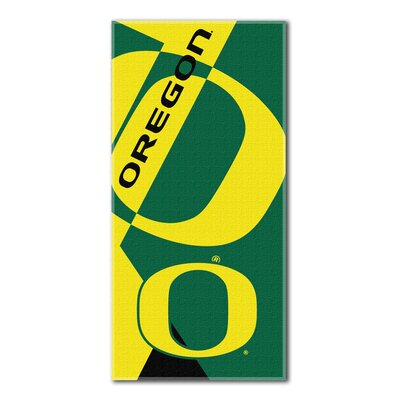 Collegiate Oregon Puzzle Beach Towel