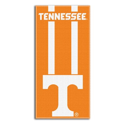 Collegiate Tennessee Zone Read Beach Towel