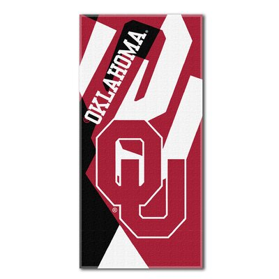 Collegiate Oklahoma Puzzle Beach Towel