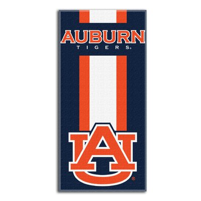 NCAA Zone Read Beach Towel NCAA Team: Auburn University