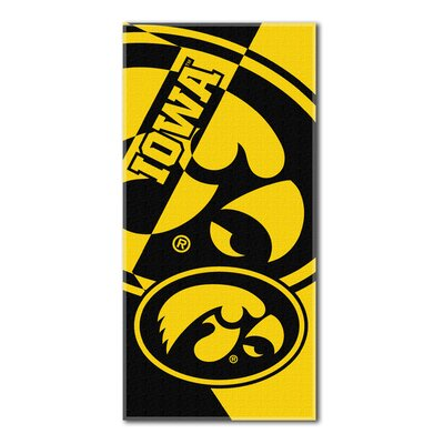 Collegiate Iowa Puzzle Beach Towel