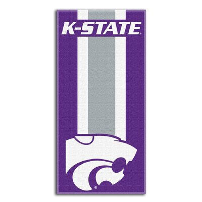 NCAA Zone Read Beach Towel NCAA Team: Kansas State University