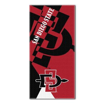 Collegiate California State San Diego Puzzle Beach Towel
