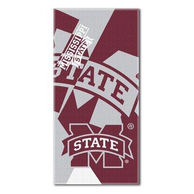 Collegiate Mississippi State Puzzle Beach Towel
