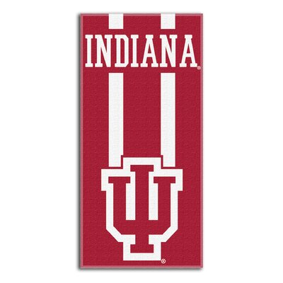 NCAA Zone Read Beach Towel NCAA Team: Indiana University, Bloomington