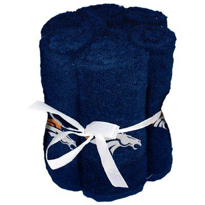 NFL Broncos Wash Cloth