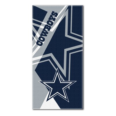 NFL Cowboys Puzzle Beach Towel