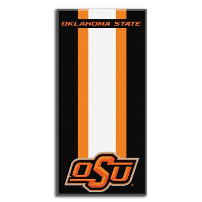 Collegiate Oklahoma State Zone Read Beach Towel