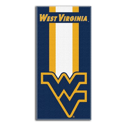 Collegiate West Virginia Zone Read Beach Towel