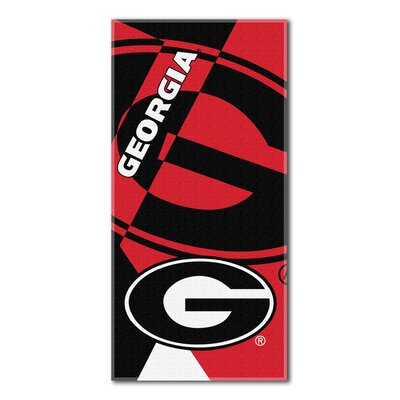 Collegiate Georgia Puzzle Beach Towel