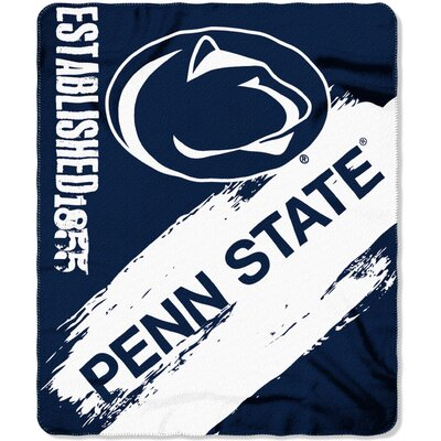 Collegiate Penn State Painted Fleece Throw