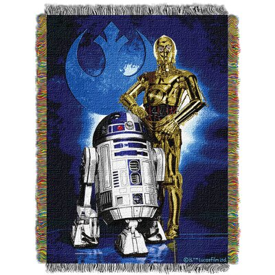 Star Wars Classic Droid Blues Throw