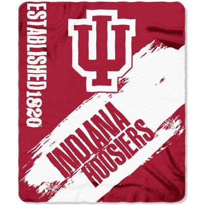 Collegiate Indiana Painted Fleece Throw