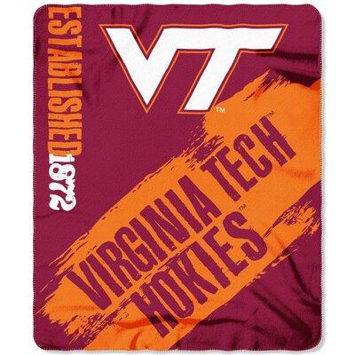 Collegiate Virginia Tech Painted Fleece Throw