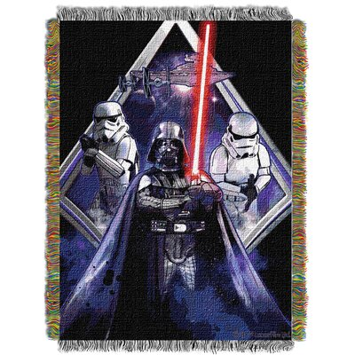 Star Wars Classic Midnight Vader Throw