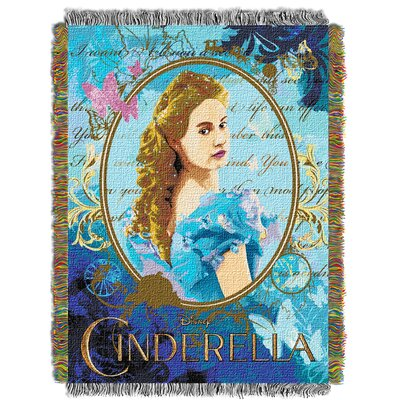 Cinderella Movie Kindness and Courage Throw