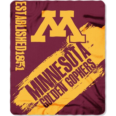 Collegiate Minnesota Painted Fleece Throw