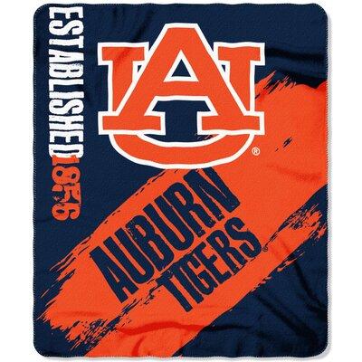 Collegiate Auburn Painted Fleece Throw