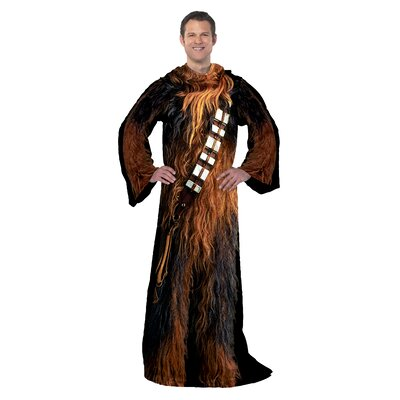 Star Wars Classic Being Chewie Fleece Throw
