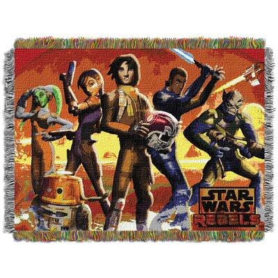 Star Wars Rebels Red Hot Rebels Throw