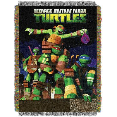 Teenage Mutant Ninja Turtles Throw Blanket