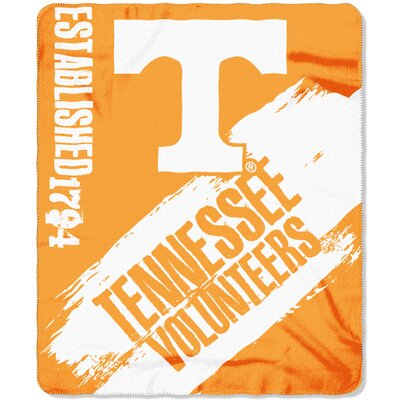 Collegiate Tennessee Painted Fleece Throw