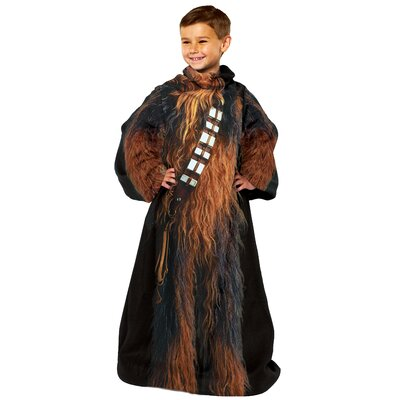 Star Wars Classic Being Chewbacca Fleece Throw