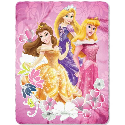 Princess Shining Flowers Throw