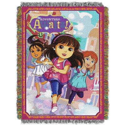 Dora and Friends Adventure Awaits Throw