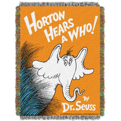 Dr. Seuss Horton Hears A Who Throw