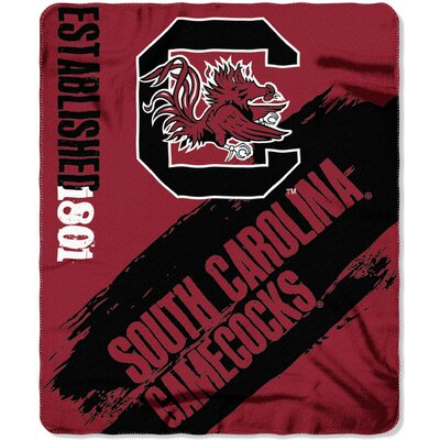 Collegiate South Carolina Painted Fleece Throw