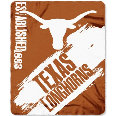 Collegiate Texas Painted Fleece Throw