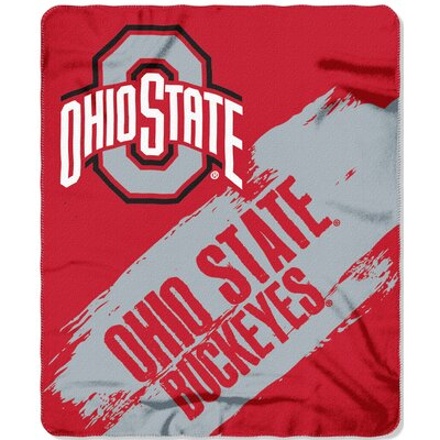 Collegiate Ohio State Painted Fleece Throw