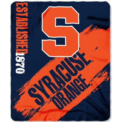 Collegiate Syracuse Painted Fleece Throw