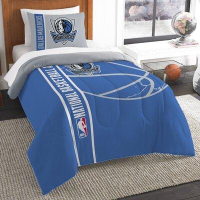 NBA Mavericks Basketball 2 Piece Twin Comforter Set