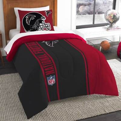 NFL Falcons Helmet Comforter Set Size: Twin
