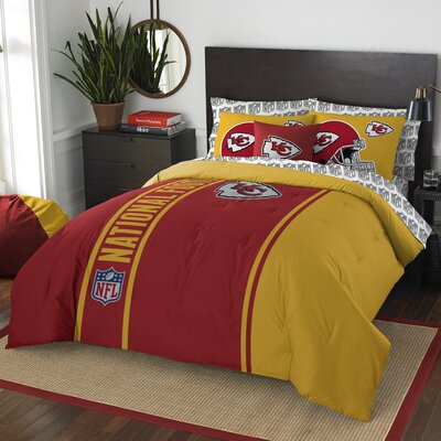 NFL Chiefs Comforter Set Size: Full