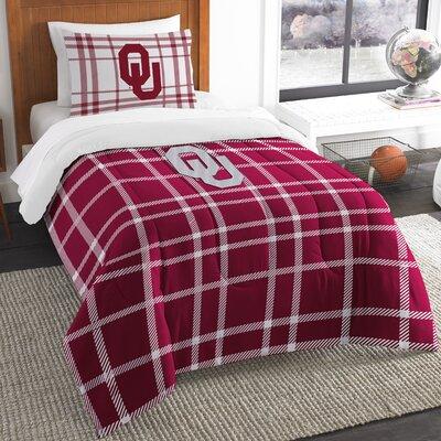 Collegiate Oklahoma Comforter Set Size: Twin