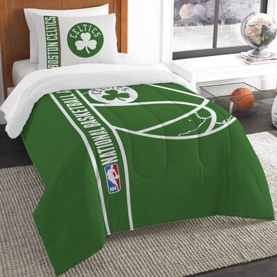 NBA Celtics Basketball Comforter Set Size: Twin