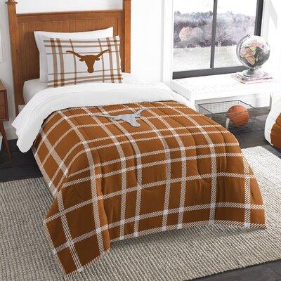 Collegiate Texas Comforter Set Size: Twin