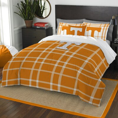 Collegiate Tennessee Comforter Set Size: Full
