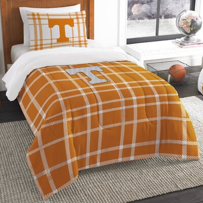 Collegiate Tennessee Comforter Set Size: Twin