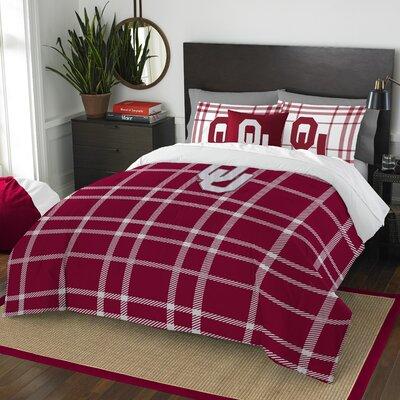 Collegiate Oklahoma Comforter Set Size: Full